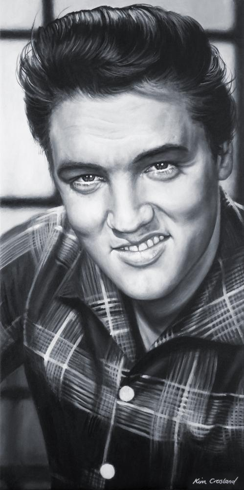 Elvis Presley by chaosart